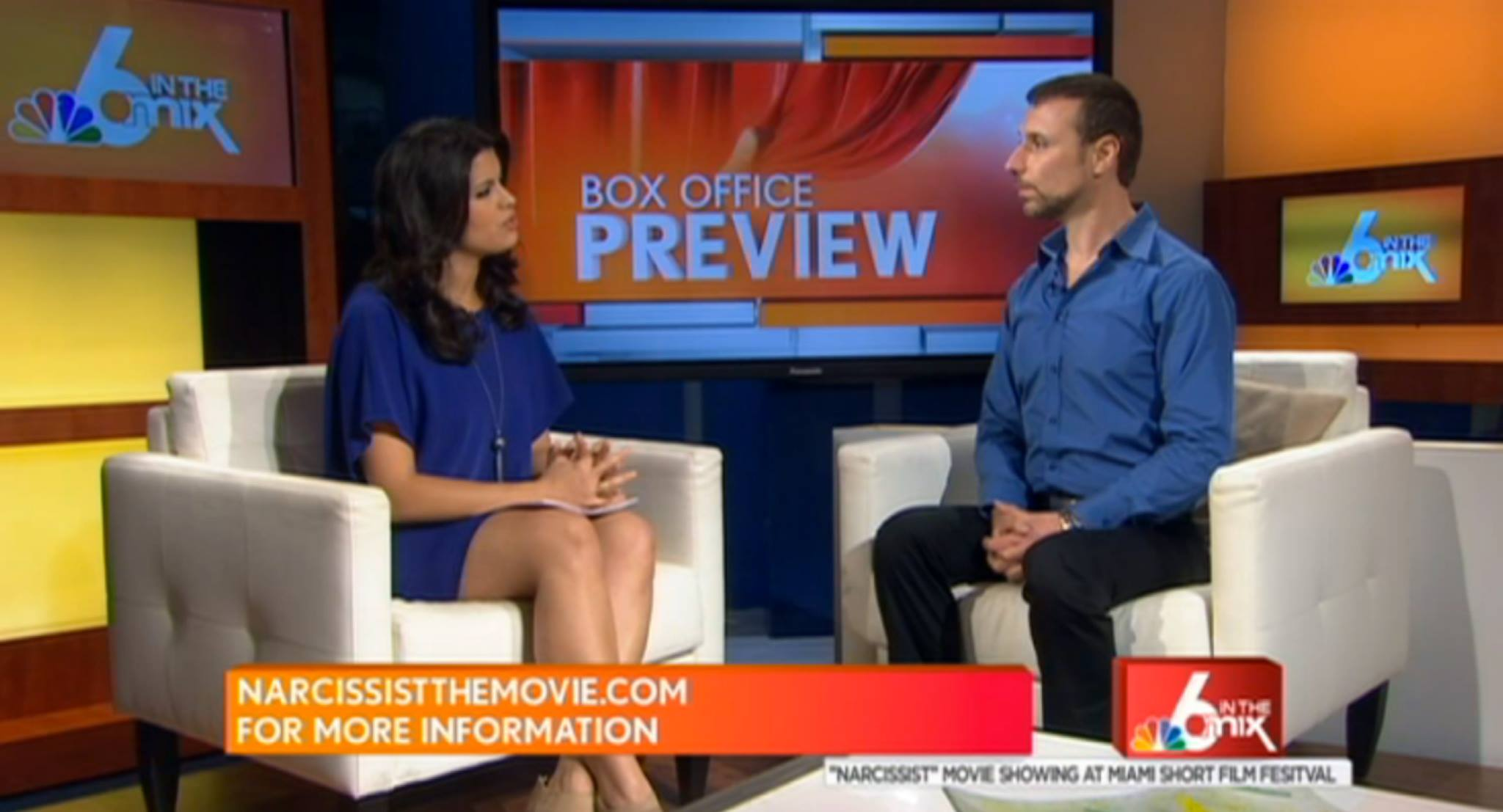 Click on image to view Eric Casaccio on NBC News with Roxanne Vargas