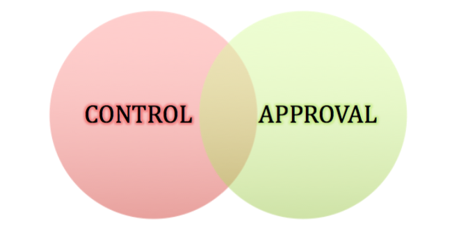 Do you need control or approval?